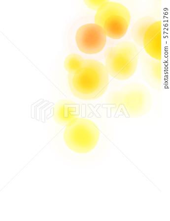 둥근 모양 오렌지 텍스처 57261769