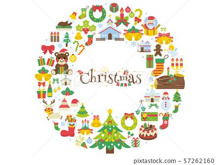 聖誕節例證2 57262160
