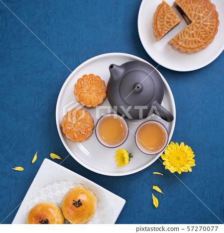 中秋節月餅蓋貝 57270077