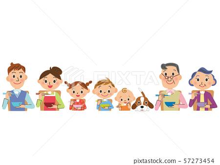 3代家庭相處得很好 57273454