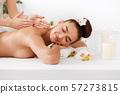 masseur, massage, woman 57273815