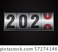 mechanical counter showing 2020 57274146