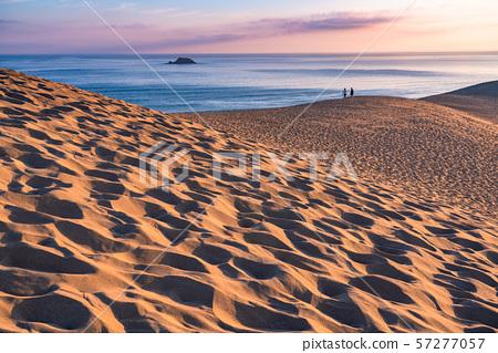 <<鳥取縣>>鳥取沙丘的黎明 57277057
