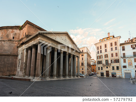 Pantheon in Rome, Italy 57279792