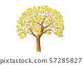 레몬 나무 수채화 이미지 57285827
