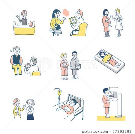 醫療圖像設置粉紅色 57293292