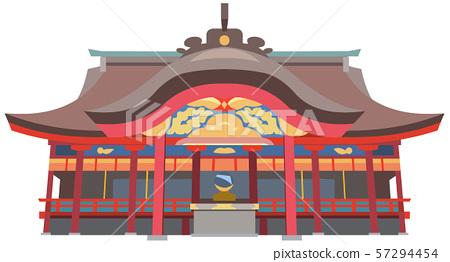 太宰府天滿宮神社圖像觀光點圖圖標 57294454