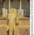 A marble statue of god elephant 57310310