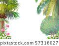 vector cartoon Sea border background 57316027