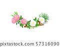 vector tropical pattern clip art 57316090