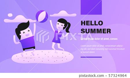 Hello Summer. 57324964