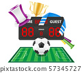 set of soccer football fan items and accessories 57345727
