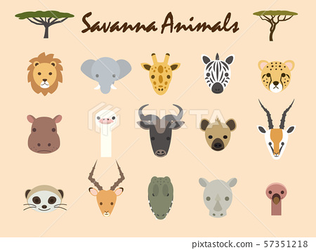 Savannah animals 1 57351218
