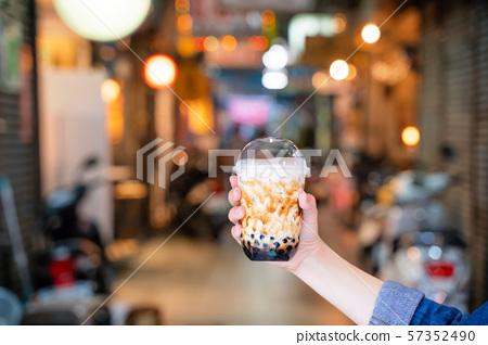 Chinpa夜市Chinjucha茶女人夜市木薯粉木薯奶茶 57352490