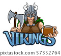 Viking Female Gladiator Football Warrior Woman 57352764