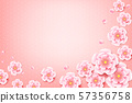Chinese plum blossom flower with chinese art 57356758