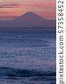 Fuji as seen from Tokyo Bay 01 57358452