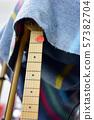 electric guitar close up detail. 57382704
