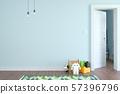 Children room scandinavian style 3D rendering 57396796