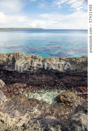 New Caledonia Loyalty Islands Male Island Coral Reef in Nord Bay 57431488