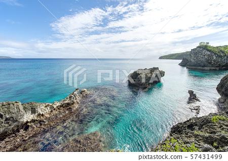 New Caledonia, Loyalty Islands, Male Island, Nord Bay 57431499