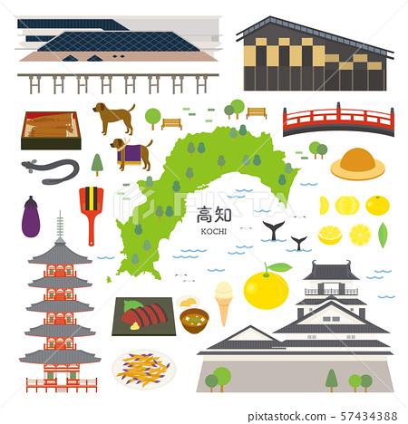 高知县特产观光插图集 57434388