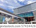 고쿠라 역 역사 · 모노레일 · 키타 큐슈 모노레일 · 기타큐슈 고속철도 고쿠라 선 57434426