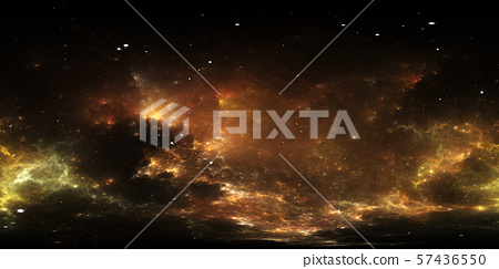 360 degree space nebula panorama 57436550