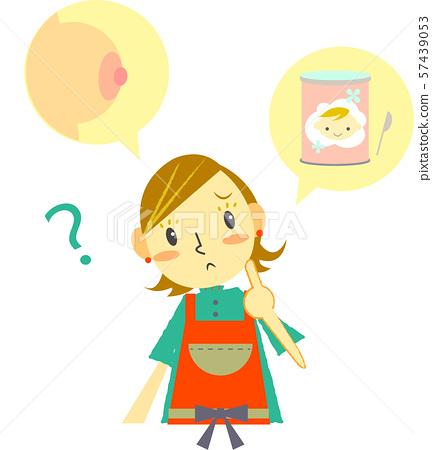育兒母乳或奶粉 57439053