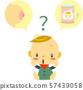 育儿母乳或奶粉婴儿 57439058