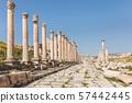 ancient citadel of Amman, Jordan. 57442445