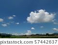 Blue sky and white clouds perming sky and clouds stock photo 57442637