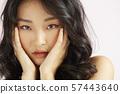 女性秀丽干燥纹理 57443640