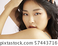 Female beauty dry texture 57443716