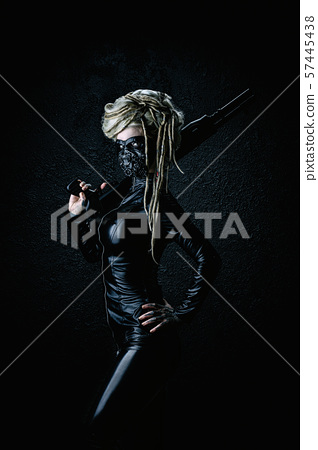 woman, mask, person 57445438