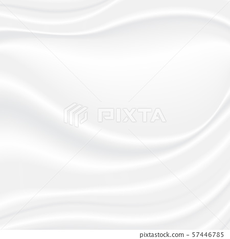 Abstract white and gray vector background. Satin 57446785