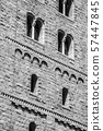 Romanesque and gothic building in NYC 57447845