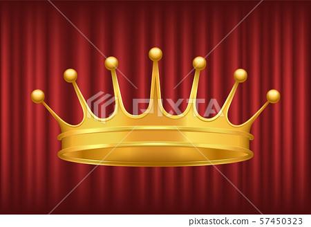 Queen Gorden Crown, Royal Vector Image 57450323