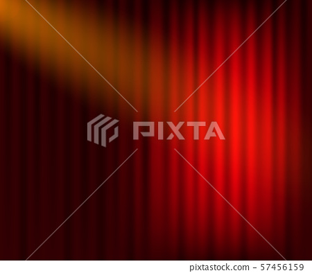 Entertainment curtains background for movies. 57456159