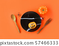 Halloween table setting decoration accessories 57466333