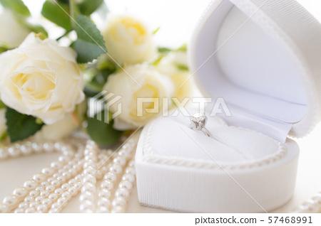 웨딩 약혼 반지 57468991
