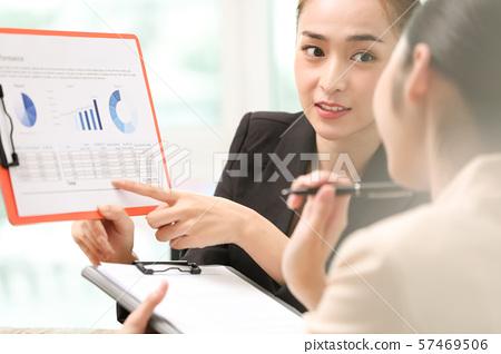 여성 비즈니스 57469506