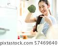 อาหารไลฟ์สไตล์หญิง 57469640