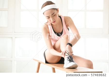 여성 스포츠 건강 57469682
