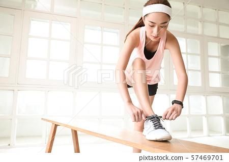 여성 스포츠 건강 57469701