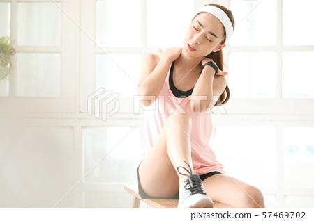 여성 스포츠 건강 57469702