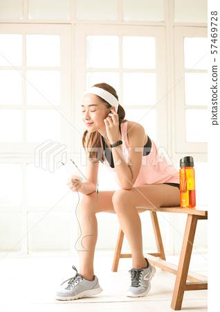 여성 스포츠 건강 57469728