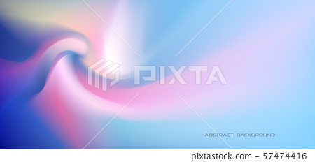 Illustration abstract glowing, neon light, minimal bright fluid, liquid gradient background. Vector modern trendy, graphic design holographic vibrant color background for poster, banner, template 57474416