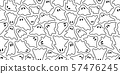 Ghost seamless pattern Halloween vector spooky camouflage scarf isolated repeat wallpaper tile background devil evil cartoon illustration doodle gift wrap paper white design 57476245