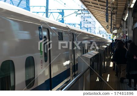 ซีรี่ส์ N700 ออกเดินทางจากสถานีนาโกย่า 57481896
